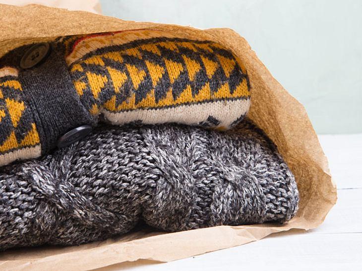 Was gilt es zu beachten, um Winterkleidung richtig einzulagern?