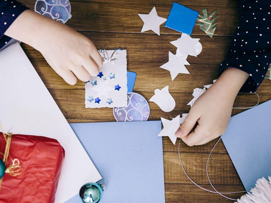 Zu Weihnachten basteln mit Kindern –  So einfach geht's